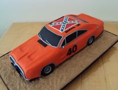 The General Lee By Yummy-MummyCakeCreations on CakeCentral.com