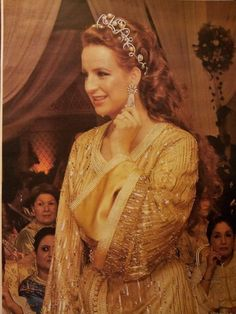 #Royal_Caftan ,Wedding Day of His Highness Prince Mly Rachid Of Morocco