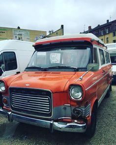 Vintage Ford Transit Caravan
