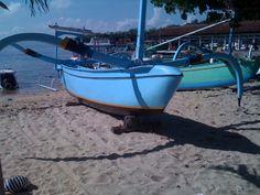 Gilli Island long boat;Bali