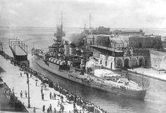 WWII ~ Italia ~ Marina Militare - Corazzata Andrea Doria