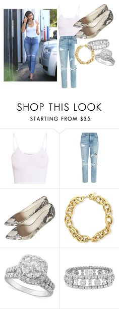 """Kylie Jenner"" by toqa-198 on Polyvore featuring 7 For All Mankind, BasicGrey, GRLFRND, Coach, BERRICLE and Van Cleef & Arpels"