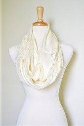 This beautiful and soft infinity scarf will be a staple in your wardrobe all spring and summer long. $49.99  Use code PINIT at checkout for 10% off your entire order.