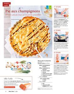 Shortcut - Pie aux champignons