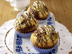 Banana Muffins Marble/Bananen-Marmormuffins