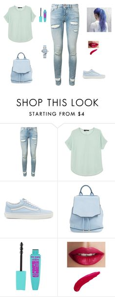 """Untitled #23"" by sara-tadic-1 ❤ liked on Polyvore featuring Off-White, 360 Sweater, Vans, rag & bone, TheBalm and OMEGA"