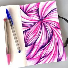Hi there. How are you?  Last week, I started a series of posts to celebrate my successes in 2016  and look back at what I've accomplished. Click HERE to read the first  installment.  This week, I'm talking color. For years (easily a decade) I have been  drawing/doodling with Bic ballpoint pen