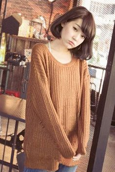 Ladies Women Casual Long Sleeve Clothes Knitted Sweater Tops Loose Knitwear Pullover Tops Coat Spring Autumn Fashion New Cute Sweaters, Winter Sweaters, Cardigan Sweaters For Women, Girls Sweaters, Long Sweaters, Cardigans For Women, Cardigan Fashion, Autumn Fashion, Khaki Green