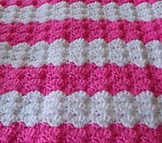 Easiest Baby Blanket Pattern Ever | AllFreeCrochet.com
