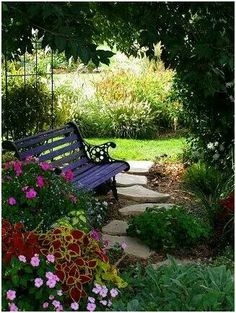 Sitting in a secret garden