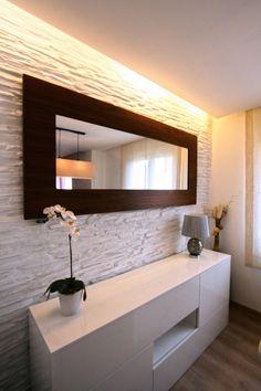 #Decoracion #Contemporaneo #Dormitorio #Comodas #Lamparas #Espejos #Plantas