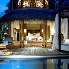 "W Retreat and Spa, Maldives....I'm noticing that the word ""spa"" keeps cropping up in my hiding places...I think there might be a pattern here."