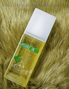 Fashion Panache: The Nature's Co Lemon Grass Massage Oil - A Review...