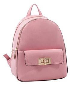 This Pink Two-Compartment Backpack is perfect! #zulilyfinds
