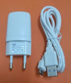 Free shipping Original 1.0A Travel Charger EU Plug Adapter+ USB Cable for Elephone P2000 P3000 P3000S P4000 P5000 P6000 P8000