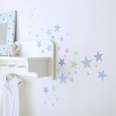 childrens star wall stickers by kidscapes wall stickers | notonthehighstreet.com