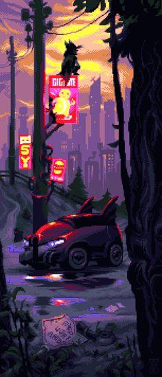 MiniBatman by andylittle #pixelart