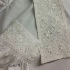 Bilderesultat for bunadskjorte hardanger Drawn Thread, Folk Costume, Lace Shorts, Needlework, Doll Clothes, Diy And Crafts, Photo And Video, Embroidery, Hardanger