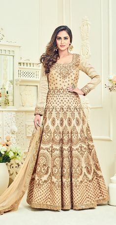 Cream Floor Length H