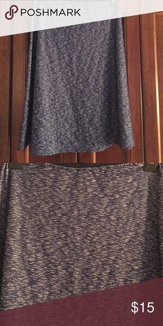 A line skirt Pretty blue  easy to wear good weight material a line skirt. Skirts A-Line or Full