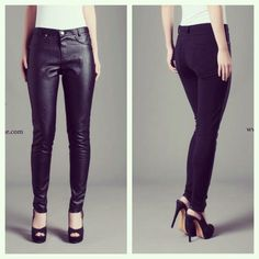 ➰ Lasika ZARA leather skinny pants IDR 255,000 ➰ ☑️ Available in size S, M & L  To order, contact us  ✅ WA/ SMS: +6281330940040 ✅ BBM: 2AFD2E9E ✅ LINE: vivi-laroux  ♦️LIKE us on FB www.facebook.com/laroux.boutique  for full preview of our collection ♦️