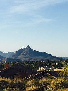There's no place like #home in the #Arizona #desert! #landscape #view #mountains #architecture #travel