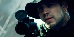 As I was watching Liam Hemsworth in Expendables 2, I kept thinking Gale don't know how to fire a sniper rifle;)