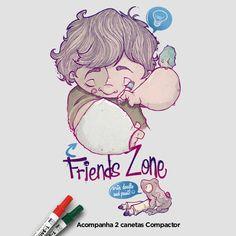 Camiseta 'Friends Zone'. http://cami.st/p/1707