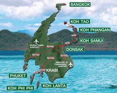 The Seatran does two trips a day from Krabi and Suratthani to Koh Samui - Phangan and Koh Tao. #AnankhiraKohTao