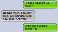 Lol busted..