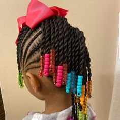 Likes, 0 Comments - (Brown Girls Hair Black Kids Braids Hairstyles, Lil Girl Hairstyles, Natural Hairstyles For Kids, Braids For Black Hair, Toddler Hairstyles, Little Girl Braids, Braids For Kids, Kid Braids, Tree Braids