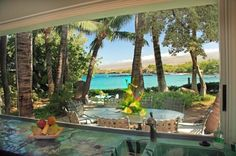 Coconut Dream Property Exclusive Ocean Front Luxury Home on Wailea Bay, also known as Beach 69 Hawaii #HawaiiVacationRentals #Oceanfront #Fetchmyvr