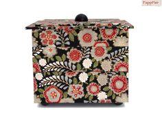 Edle Schmuckbox  von PappPier auf DaWanda.com