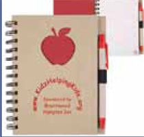 Recycled Hard Cover Notebook (Imprintable with Name or Logo)