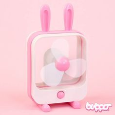 Sibyl Bunny Desktop Fan - Fans - Lifestyle - Other Products | Blippo.com - Japan & Kawaii Shop