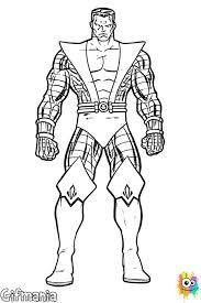 Imagen Relacionada Colossus X Men Coloring Pages