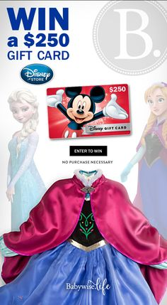 Win a $250 Disney Store gift card at Babywise.life!
