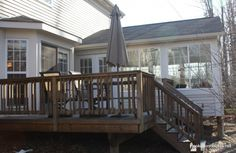 sunroom exterior-deck side