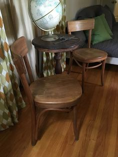 Mid Century Thonet chairs