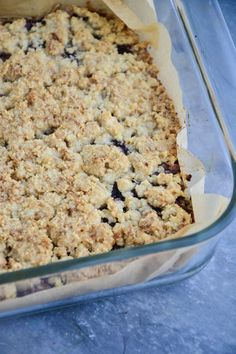 Gluten-Free Chewy Cherry Oatmeal Bars - The Healthy Apple Clean Eating Desserts, Raw Desserts, Healthy Desserts, Healthy Food, Cherry Crumble, Fruit Crumble, Gluten Free Oatmeal, Dairy Free Ice Cream, Oatmeal Bars