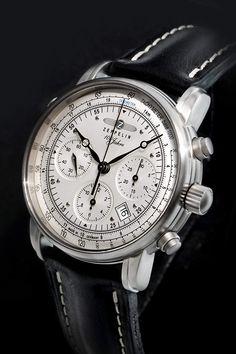 Zeppelin Watches Herren-Armbanduhr XL Analog Automatik Leder 7618-1   Amazon.de 86b58d2877