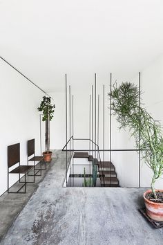 5 Lucky Clever Tips: Industrial Sofa Living Spaces industrial modern white.Industrial Home Loft industrial cafe concept. Home Design Decor, House Design, Home Decor, Modern Interior, Interior And Exterior, Interior Plants, Simple Interior, Modern Decor, Architecture Design