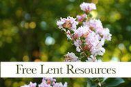 Free Lent Resources