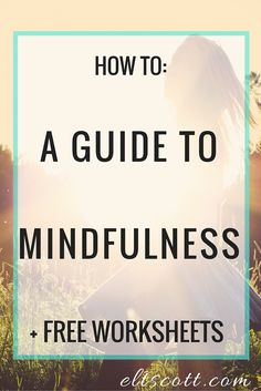 """Mindfulness is a state of active, open attention on the present. When you're mindful, you observe your thoughts and feelings from a distance, without judging them good or bad. Instead of letting your life pass you by, mindfulness means living in the moment and awakening to experience."" - Here are ways to cultivate mindfulness and live with deeply examined purpose and intention"