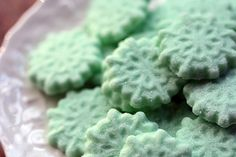 Homemade Butter Mints - party favor