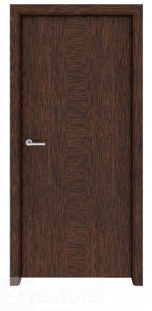 Dark Walnut Meridian - A stylish, and modern door solution #interior