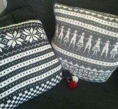 Old Norwegian knitting pattern from Fana.