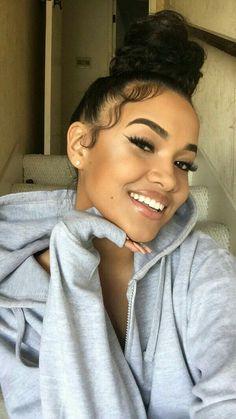 Bildergebnis für Cydney Christine - New Site Baddie Hairstyles, Black Girls Hairstyles, Easy Hairstyles, Short Hairstyle, Summer Hairstyles, Hairstyle Photos, Hair Inspo, Hair Inspiration, Cydney Christine