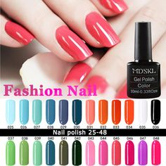 Nail Gel 132 Colors Gel Nail Polish LED UV Gel Long-lasting Soak-off Gel Varnishes Beauty Gel Lacquer Nails Polish *** AliExpress Affiliate's Pin. View this nail care item in details now by clicking the image. Nails Polish, Gel Polish Colors, Soak Off Gel Nails, Nail Gel, Easy Nail Art, Nail Tools, Uv Led, Jelsa, Nail Care