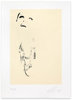 David Downton, Chanel, 2008. Limited Edition FIG Print. Signed and numbered by the artist. Price subject to currency exchange rate at the time of ordering. $500.00.